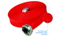Coated single jacket fire hose / Herkules